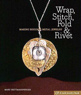 Wrap stitch fold and rivet