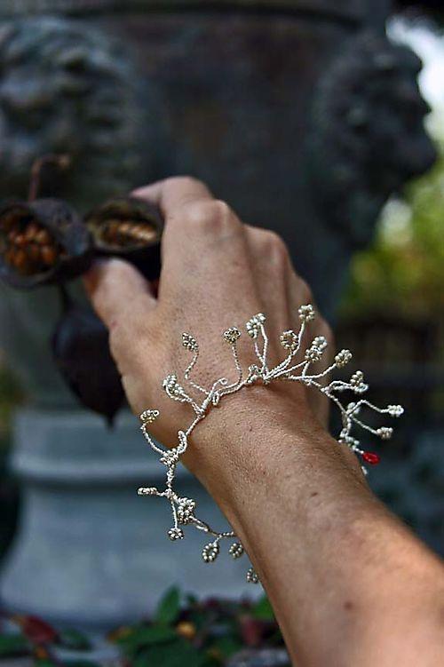 Organice bracelet worn 2