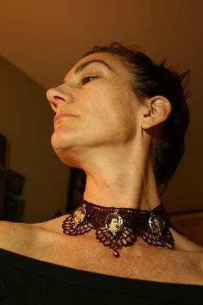 Vintage Lace Necklace 006
