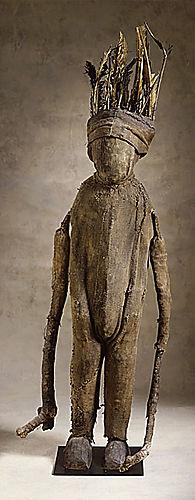 Fetish figure, cote d'ivoire, africa