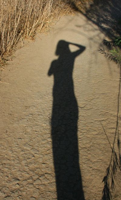 Peter's Canyon_October 13 007_girl shadow