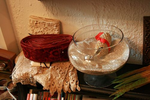 Gilding the lily_bowl of glitter