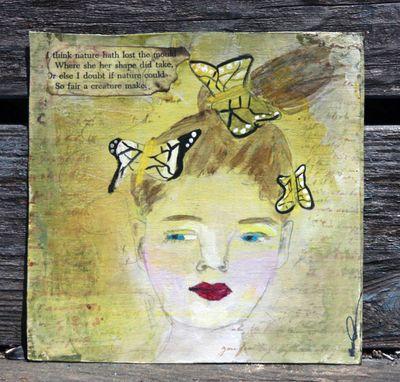 Butterflies in her hair_poem added