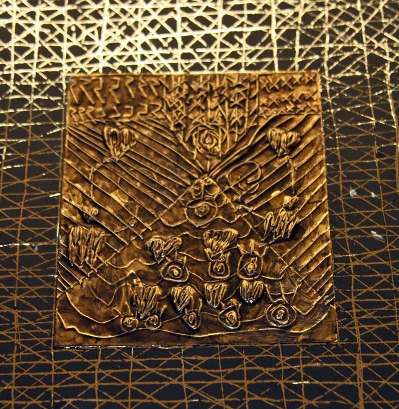 Finn's art class open house_7_22_09 FS Metal