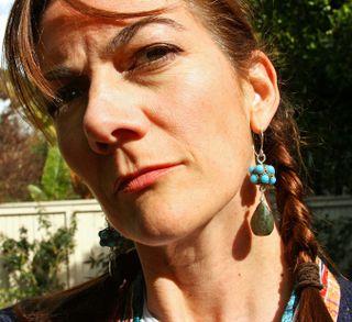 Kelly_bali blue earrings