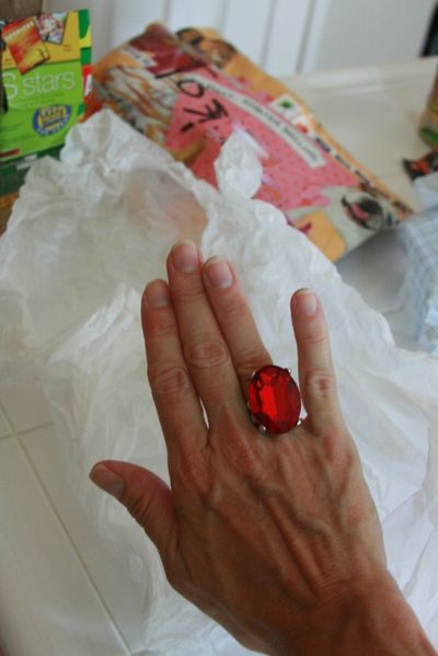 Tootie's red ring