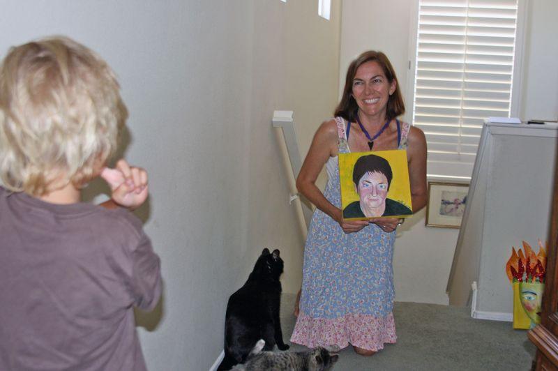 Pictures with maija portrait 005