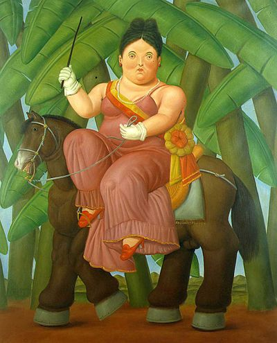 Botero_first lady on horse