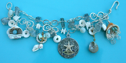 Sea themed bracelet