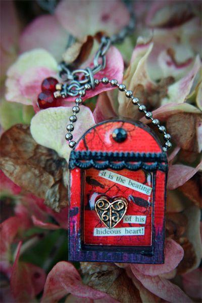 Poe gift 4_unwrapped on hydrangea