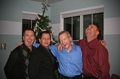 Progressive dinner_2009_ four guys
