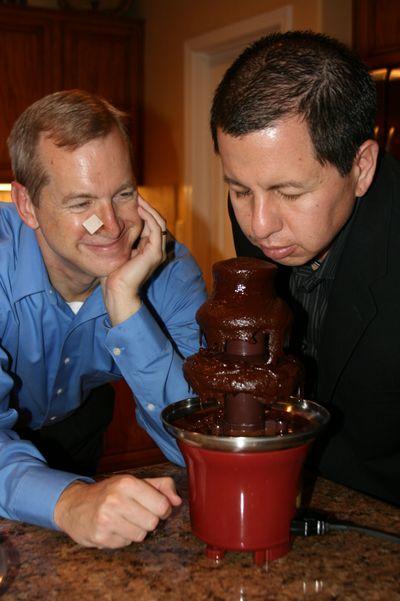 Progressive dinner_2009_ bad chocolate