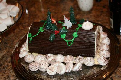 Progressive dinner_2009_ cake