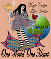 One world one heart logo