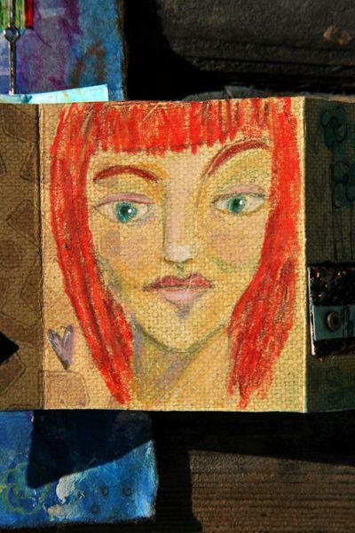 Red headed girl
