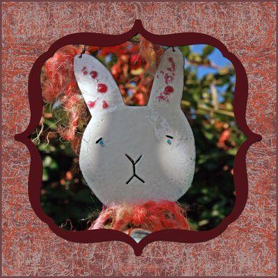 Enamel bunny 2009
