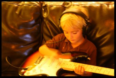 Morgan on guitar_004