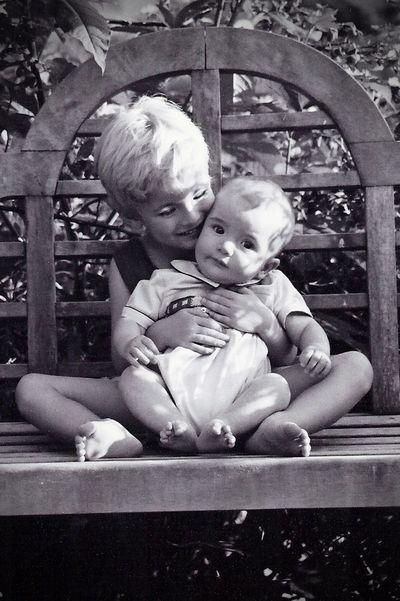 Baby Morgan and Finn