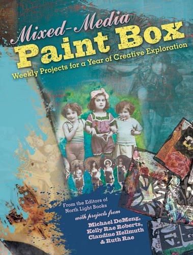 Mixed media paintbox